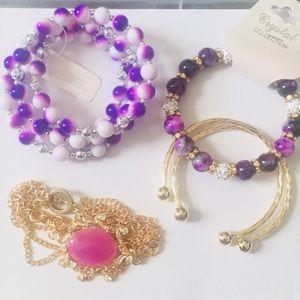 Jewelry - Set of Bracelets #B1004